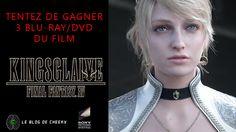 Concours : 3 Blu-Ray/DVD du film d'animation Final Fantasy XV Kingslaive à gagner ! via @https://fr.pinterest.com/cheeky3D/