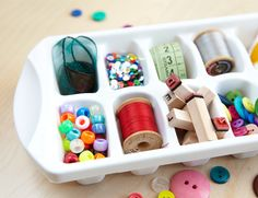 New Uses for Ice Cube Trays  From frames and ladders to jars and crates, it's amazing how the most common of items can help you get organized. Surprisingly, even a simple ice cube tray can easily be repurposed.  See all six new uses>>  www.homemadesimple.com