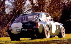 MG C 1969 Historic Racing Car: RMO699F : The MG Experience