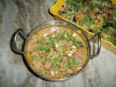 YUMMY TUMMY: Mughlai Chicken(Chicken Cooked in a Creamy Cashew Sauce)