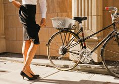 Be ready for any impromptu Vélib' ride with Iva Jean's stylish Bike Reveal Skirt
