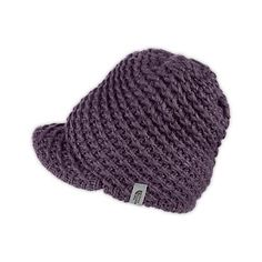 503cc3d3358 Purple North face hat Visor Beanie
