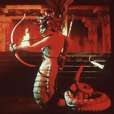 Medusa from Clash of the Titans (1981) - Ray Harryhausen's Legacy: The Golden Age of Special Effects in Science Fiction  Fantasy Films