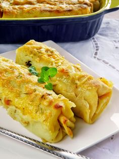 Lasagna, Macaroni And Cheese, Food And Drink, Chicken, Meat, Cooking, Ethnic Recipes, Wraps, Polish Food Recipes