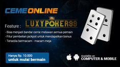 LuxyPoker99 merupakan sebuah salah satu situs poker terpercaya yang menyediakan permainan bandar ceme online terpercaya untuk kalangan indonesia.