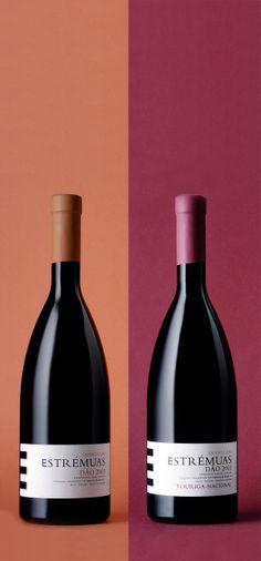 ESTREMUAS wine branding on Behance  www.mpfxdesign.com
