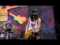 Guns N Roses Slash - Sweet Child O' Mine - @ Glastonbury Live Concert 20...