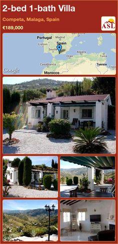 2-bed 1-bath Villa in Competa, Malaga, Spain ►€189,000 #PropertyForSaleInSpain