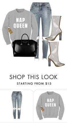 """Untitled #1104"" by mullaqueen ❤ liked on Polyvore featuring River Island and Givenchy"