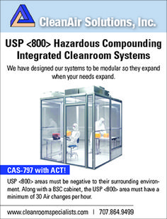 IsoTech Design Your total clean air solution provider for USP 797