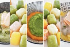 Batch Cooking, Cantaloupe, Elora, Fruit, Ethnic Recipes, Ajouter, Coups, Baby Baby, Food