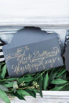 Featured Photographer: Awake Photography; Wedding invitation idea