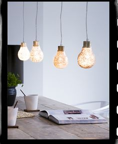 Do you think you could glitter light bulbs for a party? Or just in general for fun times?