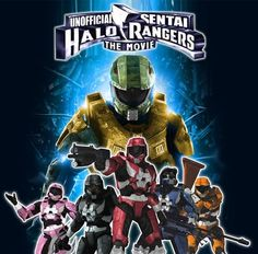 Halo Power Rangers