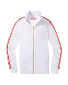 New Juicy Couture Tricot Track Jacket Style: JG007504, M White