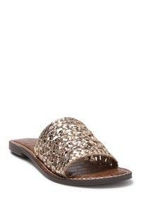Daily Deals July 2020 - metallic sam edelman slide sandals