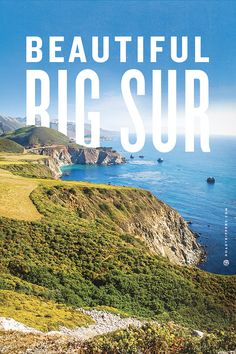 Discover the wonderful coastal scenery in California's Big Sur. I love this place! Hope to go back someday.