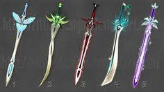Картинки по запросу anime weapons