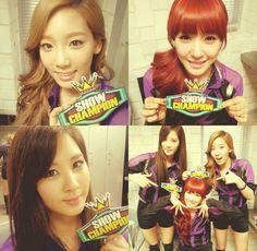 Taeyeon, Tiffany and Seohyun
