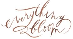Everything Bloom logo from Oh My Deer