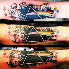 Pink Floyd tattoo #pinkfloyd #tattoo