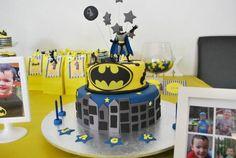 Batman Party Cake #batman #cake