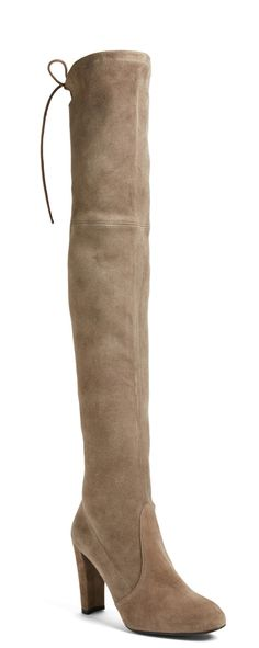 Fall must-have | Stuart Weitzman suede over-the-knee boots.