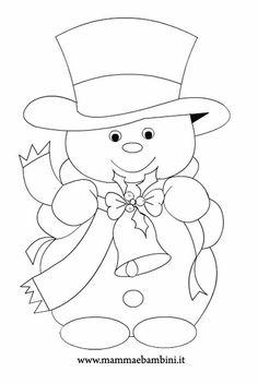 disegni da colorare pupazzi di neve - Bing images
