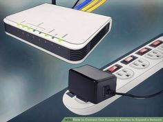 How to Connect One Router to Another to Expand a Network. This wikiHow teaches you how to add a secondary router to your home or small business network. If you want to add more computers or other devices to your home or small business. Computer Router, Internet Router, Wireless Router, Computer Repair, Bluetooth, Electronic Data Systems, Computer Troubleshooting, Small Business Network, New Ip