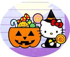 Hello Kitty Halloween, Hello Kitty Art, Halloween Rocks, Kitty Wallpaper, Sanrio, Entertainment, Seasons, Autumn, Templates