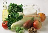 Таблица совместимости продуктов для системы раздельного питания