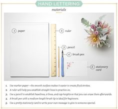 Hand Lettering Basics: A Simple Tutorial - FTD.com