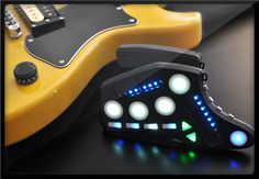 $ 159.00  The Guitar Wing fits any electric guitar or bass and does not require modifications of your instrument. Easily attached (and removed), it communicates with your computer using wireless technology. Every Guitar Wing includes the Wing FX software plug-in, so you can quickly use it to control effects, pitch, filters and more. #fx #guitar #technology #inventions