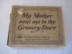 Vintage card came childrens card games  My от EndlesslyVintage