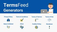 TermsFeed Generators (privacy policy, cookie policy, return and refund policy, etc. E Coupons, Seo Keywords, Terms And Conditions, Competitor Analysis, Privacy Policy, Terms Of Service, Business Tips, Mobile App, Saving Money