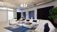 Too lounge like perhaps but like the rug and open feeling