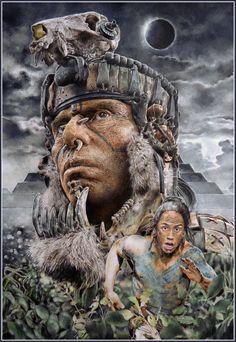 """Апокалипсис"" 2006 Aztec Warrior Tattoo, Aztec Drawing, Aztecas Art, Mayan Tattoos, Thy Art Is Murder, Aztec Tattoo Designs, Chicano Art Tattoos, Clown Horror, Joker Hd Wallpaper"
