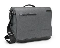 Amazon.com: Brenthaven Collins Ultra-Padded Messenger Bag for 15.4-Inch Macbooks, Laptops and Ultrabooks, Grey (1906101): Computers & Accessories