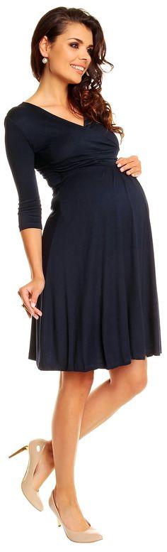 Zeta Ville Women's Maternity Dress Summer Cocktail Skater Baby Shower Dress 282c at Amazon Women's Clothing store: