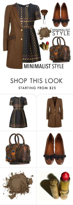 """""""Chic Minimalist Style"""" by nicolevalents ❤ liked on Polyvore featuring P.A.R.O.S.H., Holland Cooper, Givenchy, Laura Mercier, Revlon and Clinique"""