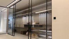 Interior high-end design need linear magnetic drive sliding door openers Wardrobe Door Designs, Wardrobe Design Bedroom, Closet Designs, Bathroom Design Luxury, Home Interior Design, Interior Decorating, Küchen Design, House Design, Walk In Closet Design