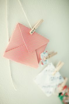 advent calendar - this is a great idea for adults and children. Use each envelope as a clue to a gift, or just use each one to write letters/love letters to the other half.