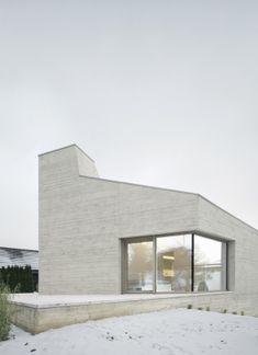 Wohnhaus aus Dämmbeton von Steimle Architekten