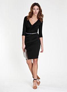 The Pleat Shift Dress Baukjen.com