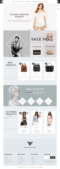 Vintage is Premium full Responsive Magento eCommerce Theme. Retina Ready. Bootstrap Framework. Ultra Mega Menu. Google Fonts. Test free demo at: http://www.responsivemiracle.com/cms/vintage-premium-responsive-minimal-ecommerce-magento-theme/