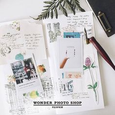Crafting is like getting lost in the right direction. Photo by : @paggiefoo  #wonderphotoshop #wonderphotoshopmy #instax #instaxclub #arts #crafts #scrapbooking Repost : @wonderphotoshop.my by instaxClub