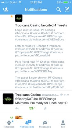 Tropicana favorite my review of PF Chang's in their casino