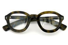 Lesca Prestige メガネ Mod-P43 col-8906 Olive Demi | folding | optician | PonMegane