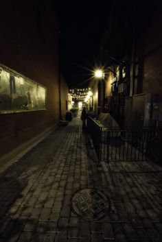 Alleyway in Old Town Fort Collins (2015)
