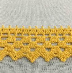 Barrado de Crochê para Pano de Prato: Passo a Passo e Gráficos 30 Fotos Crochet Bedspread Pattern, Crochet Blanket Edging, Crochet Edging Patterns, Crochet Lace Edging, Granny Square Crochet Pattern, Crochet Doilies, Crochet Stitches, Diy Crafts Crochet, Crochet Home